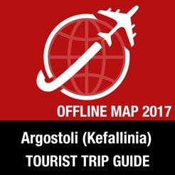 Argostoli Kefallinia Tourist Guide Offline Map on the App Store