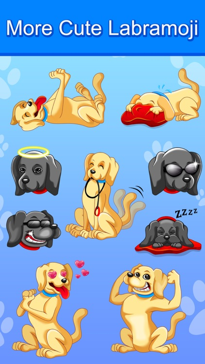 LabraMoji - Stickers & Keyboard For Labradors screenshot-3