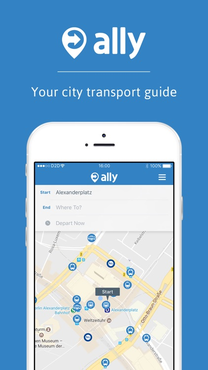ally: your city route planner