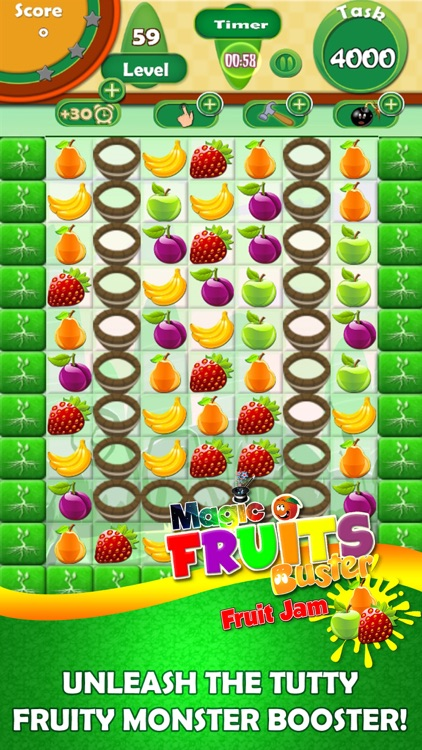 Magic Fruit Buster - Fruit Jam screenshot-3