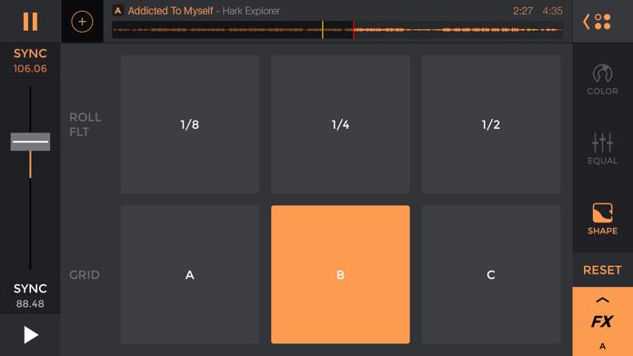edjing Pro LE - dj controller Screenshot