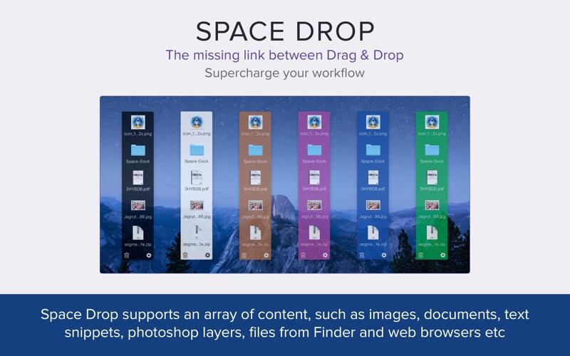 Space Drop: Better Drag & Drop Screenshot 04 9nlv2mn