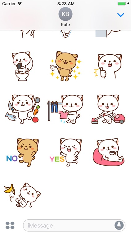 Pretty Cats Sticker screenshot-3