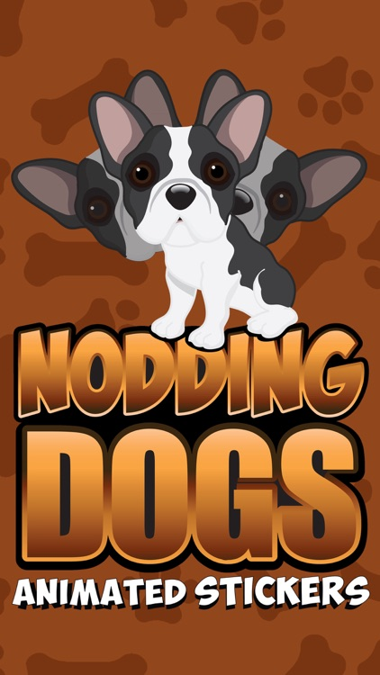 Nodding Dogs Animated Stickers