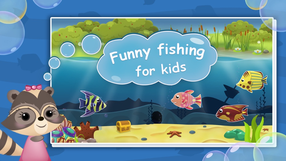 Candy Raccoon: Fishing for Kids Cheat Codes