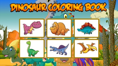 Coloring Book Dinosaur : color pages for adults