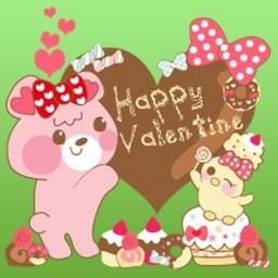 Valentine Card Stickers Pack