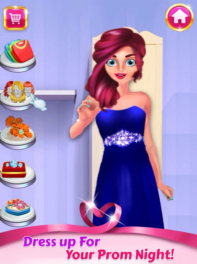 Prom Night Makeover - Liebe Spiele for girls im App Store
