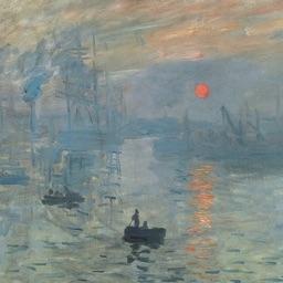 Monet Artworks for iMessage