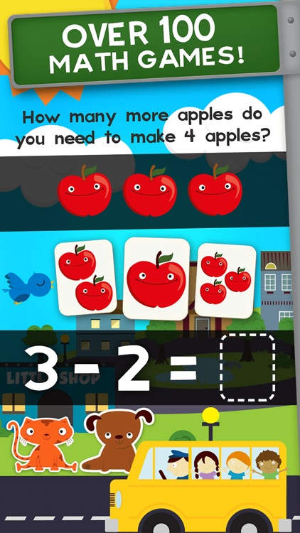 Animal Math Kindergarten Math