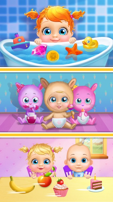 Crazy Twins Baby HouseScreenshot of 1