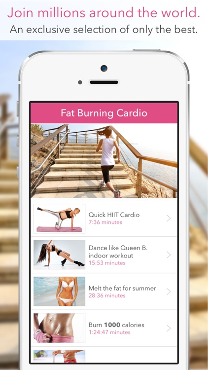 Bikini Body: Workouts for Women! screenshot-1