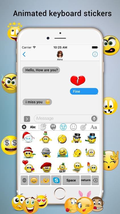 TIMOJI: Animated Emojis Emoticons screenshot-3