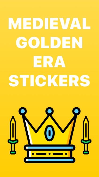 The Medieval: Golden Era Emoji Stickers Limited