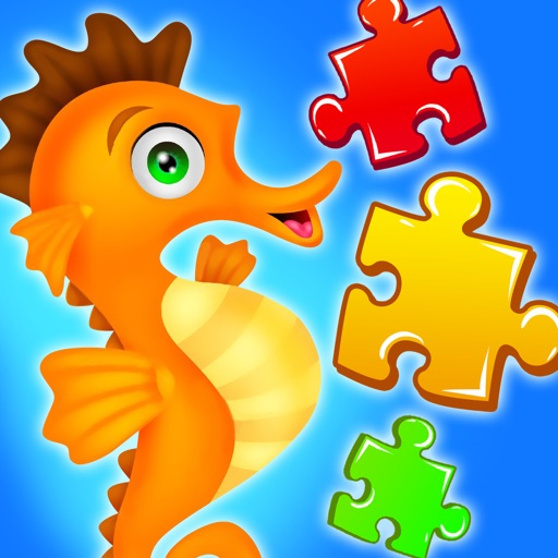 Sea Animal Jigsaw Puzzle for Kids
