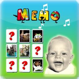 Kids Memo Cards