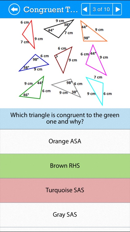 SAT Math : Geometry & Measurement screenshot-3