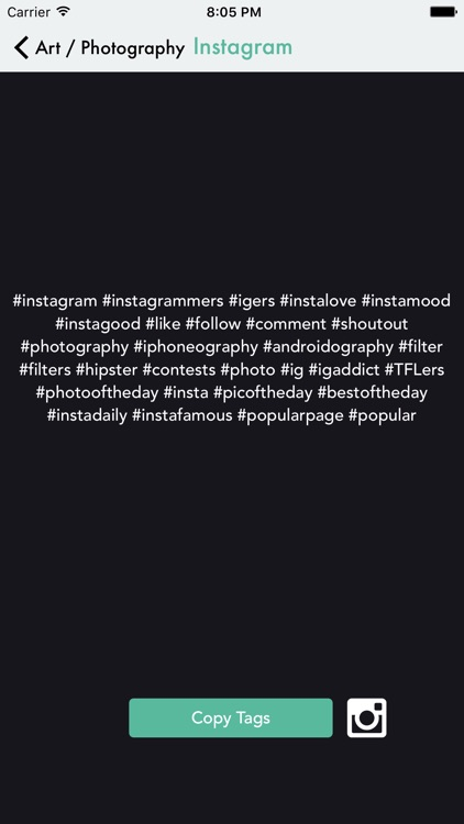 MagicTags for Instagram - get more likes screenshot-3