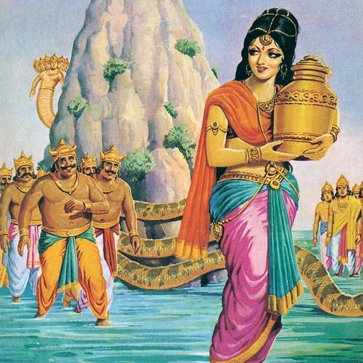 Churning of The Ocean-Amar Chitra Katha icon