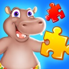 Wild Animal Jigsaw Puzzles for Toddlers