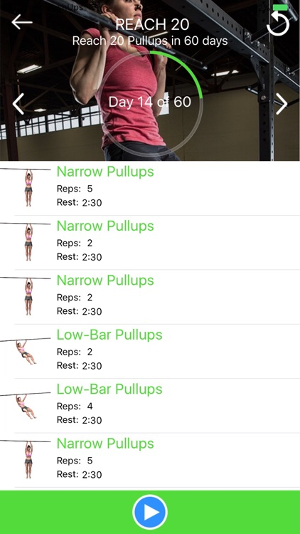 Chrono PullUps: 3D Trainer screenshot-4
