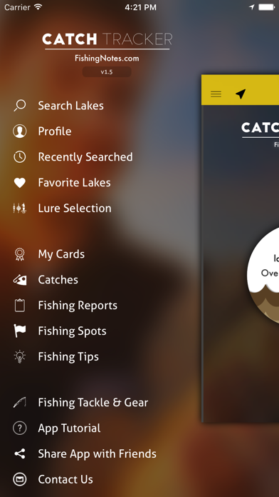 CatchTracker by FishingNotes | Lake Fishing Reports, Fishing Spots, Fishing Tips & Fishing Forecast App for Anglers screenshot