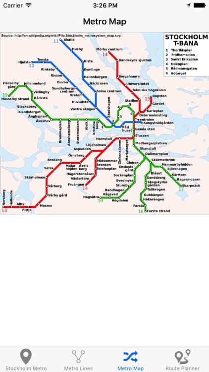 Stockholm Metro screenshot-4