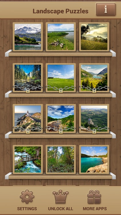 Landscape Jigsaw Puzzles screenshot-3