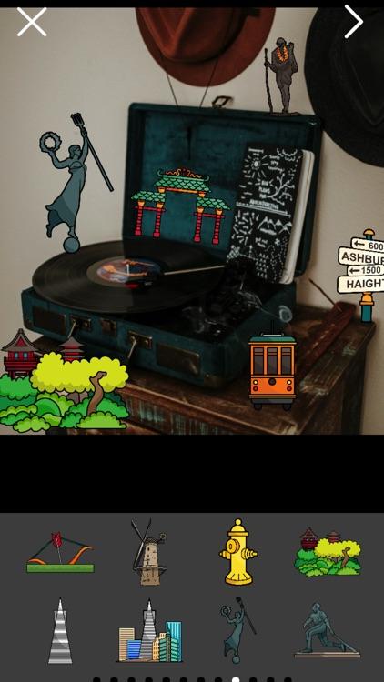 San Franciscoji Sticker Photo Booth screenshot-4