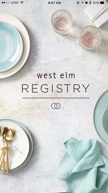 west elm registry
