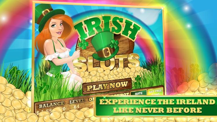 Irish Rainbow of Gold Slots Machine screenshot-3
