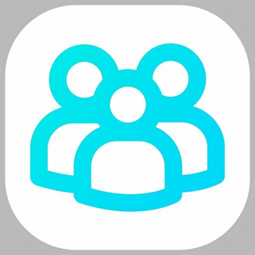 Followers and likes analytics for social network + app logo