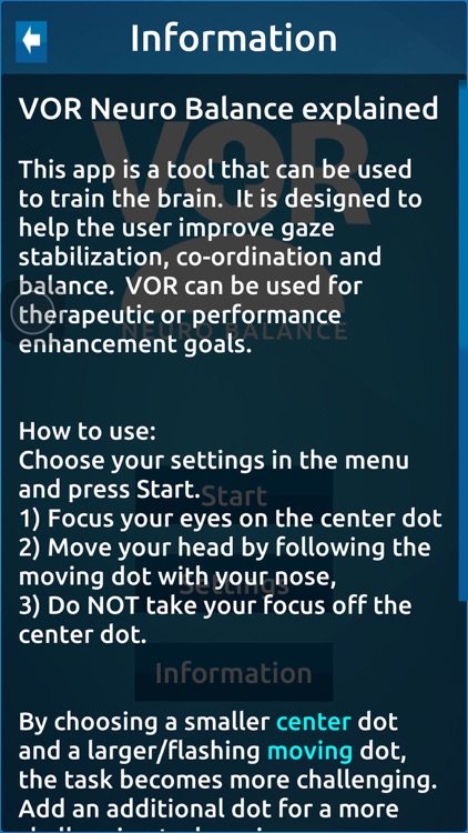 VOR Neuro Balance screenshot-4