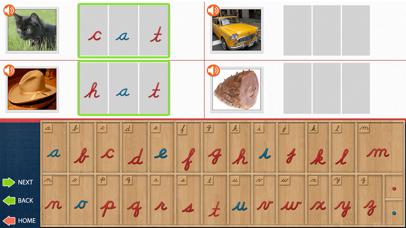 The Cursive Movable Alphabet - Montessori Language screenshot 5