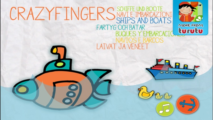 Turutu Crazyfingers - Ships and boats