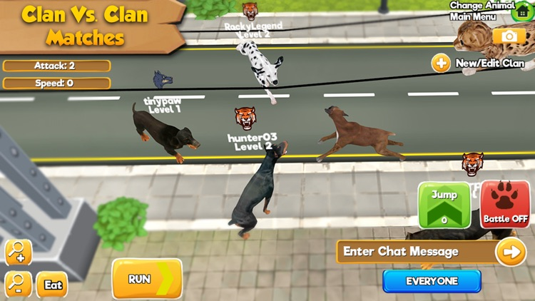 Cat & Dog Online: Multiplayer Kitten & Puppy Sim