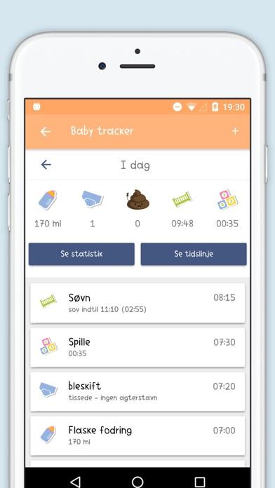 Screenshot for Baby Care Log & Tracker in Denmark App Store