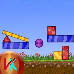 The Blue Blocks Saving - Kids Game