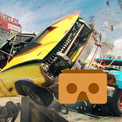 VR Demolition Derby Racing with Google Cardboard