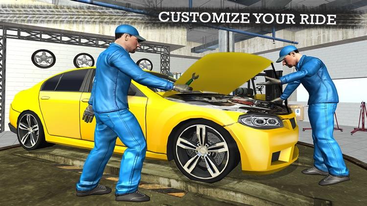 Gas Station Car Mechanic Simulator Game