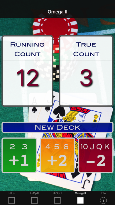 A Blackjack Card Counter - Professional screenshot four