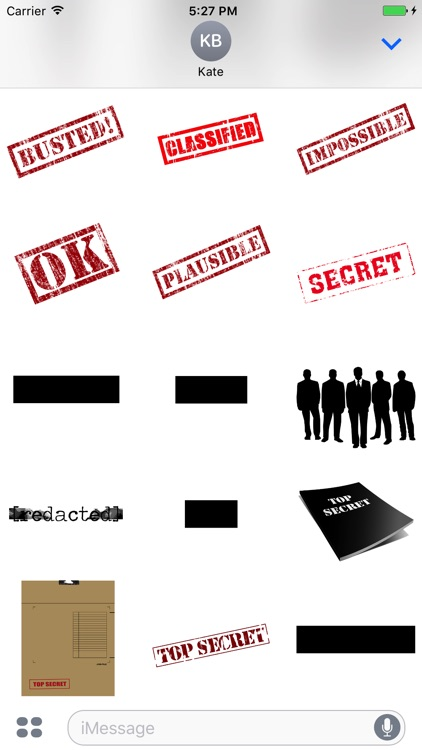 Classified - Top Secret Sticker Pack