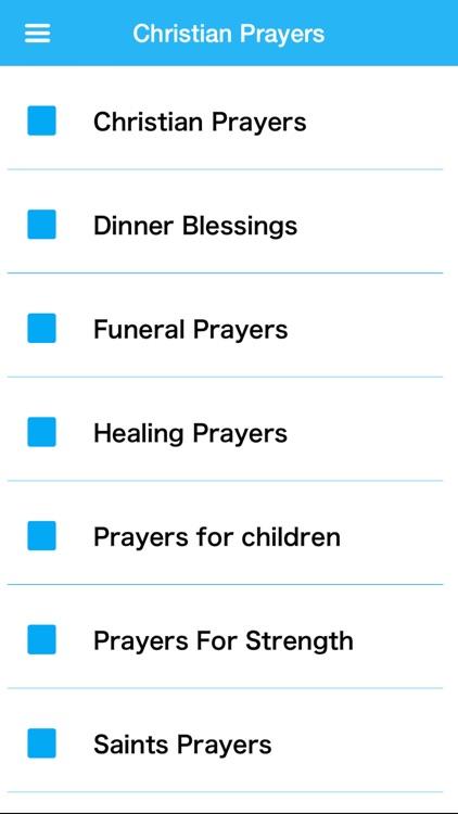 Christian Prayers Pro screenshot-3