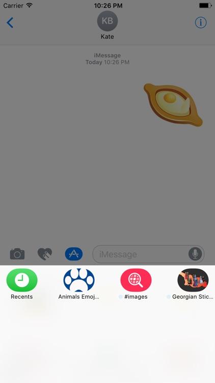 Georgian Emoji screenshot-4