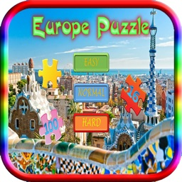 Jigsaws Puzzles Europe Game for adults and Kid