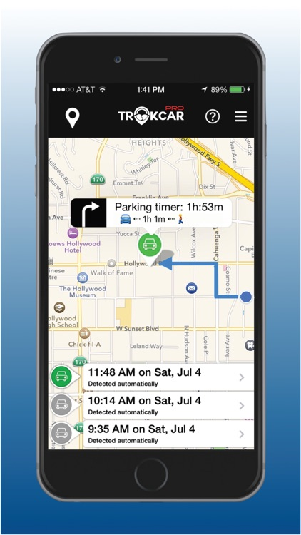 TrakCar Pro - Find Car, Where parked, Parking Time screenshot-3