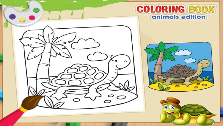 Coloring Book - Animal Coloring for Kids