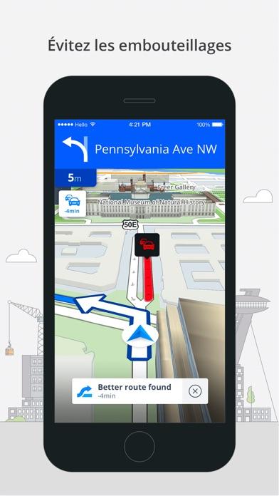Screenshot #3 pour Sygic Amérique du Nord: Navigation GPS, Cartes