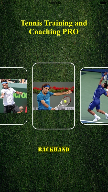 Tennis Training and Coaching PRO