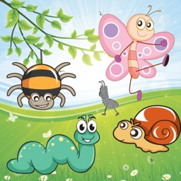 Insects Puzzles for Toddlers and Kids